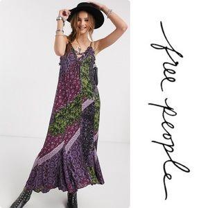 Free People Work Of Art Print Maxi Dress